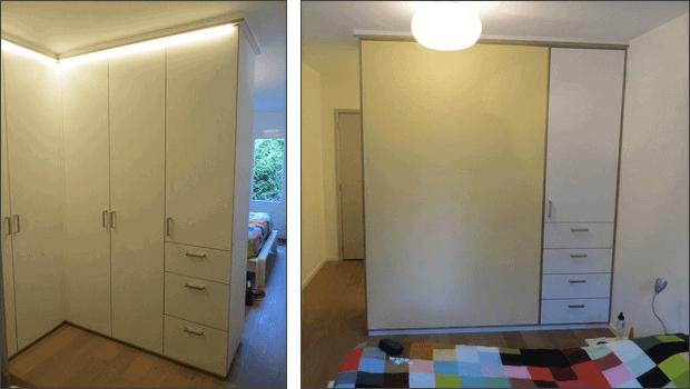 Slaapkamer Op Inloopkast : Weinig ruimte zo past er toch een kleine inloopkast in je slaapkamer